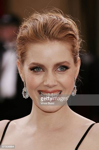 Oscar nominee for Best Actress in a supporting role Amy Adams from Junebug arrives to the 78th Annual Academy Awards at the Kodak Theatre on March 5...