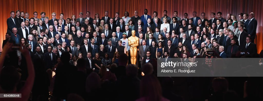 Oscar nominees gather during the 89th Annual Academy Awards Nominee Luncheon at The Beverly Hilton Hotel on February 6, 2017 in Beverly Hills, California.