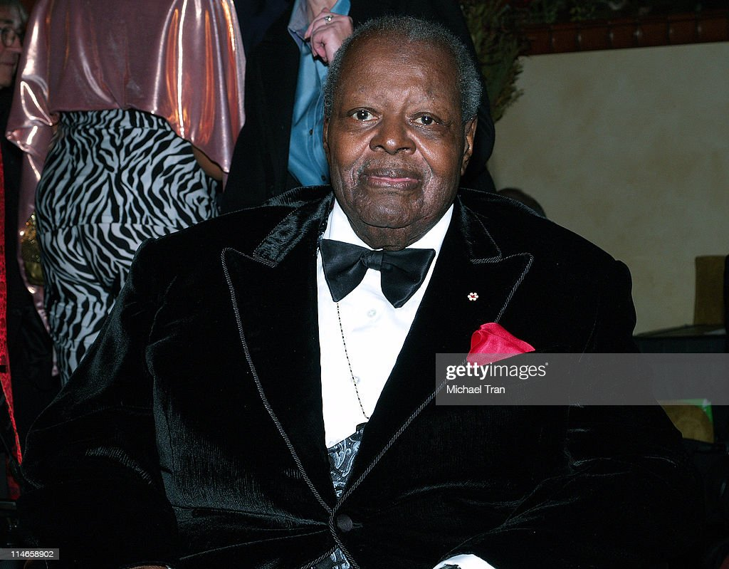Oscar Peterson, honoree of The President's Merit Award