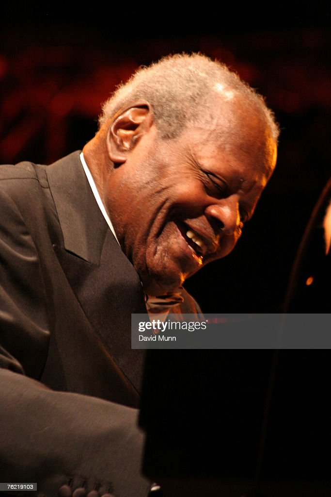 Oscar Peterson Performs at The Summer Pops - July 1, 2006
