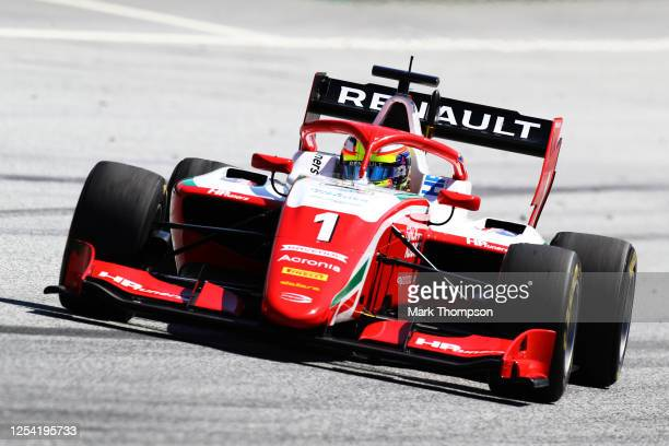 Oscar Piastri of Australia and Prema Racing drives on track during the feature race for the Formula 3 Championship at Red Bull Ring on July 04 2020...