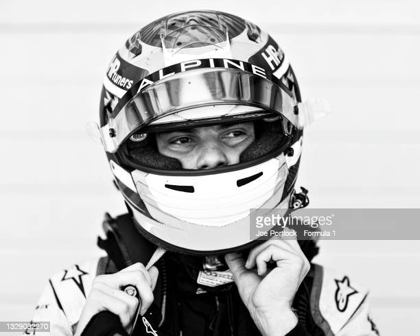 Oscar Piastri of Australia and Prema Racing poses after practice ahead of Round 4:Silverstone of the Formula 2 Championship at Silverstone on July...