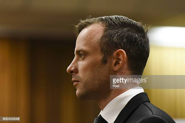 Oscar Pistorius appears in the Pretoria High Court on December 8 in Pretoria South Africa Oscar Pistorius briefly appeared in court today for his...