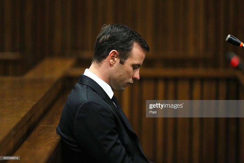 Oscar Pistorius Appears In Court For Sentence Hearing