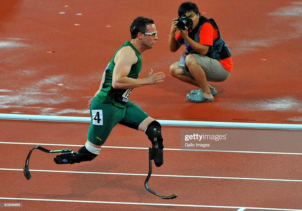 2008 Beijing Paralympic Games - Athletics - Day 10 : News Photo