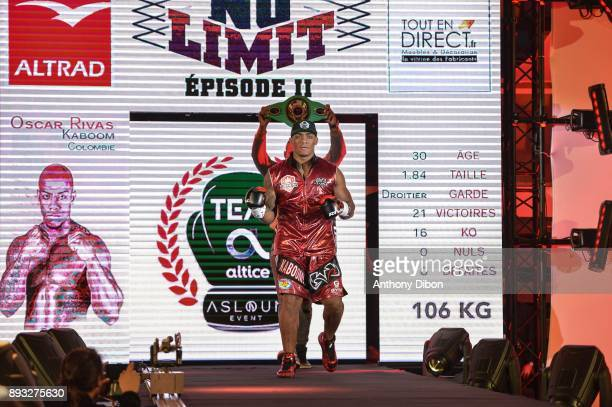 Oscar Rivas during the event No Limit Levallois at Salle Marcel Cerdan on December 14 2017 in Paris France