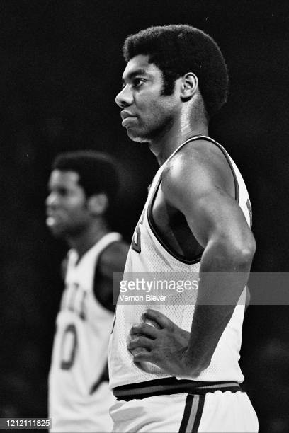 Oscar Robertson of Milwaukee Bucks looks on during the game against the Detroit Pistons circa 1973 at the MECCA Arena in Milwaukee, Wisconsin. NOTE...