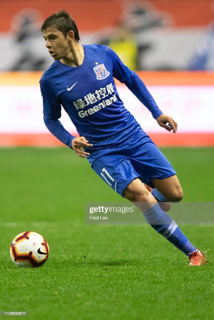 Shanghai Shenhua v Hebei China Fortune - 2019 China Super League : ニュース写真