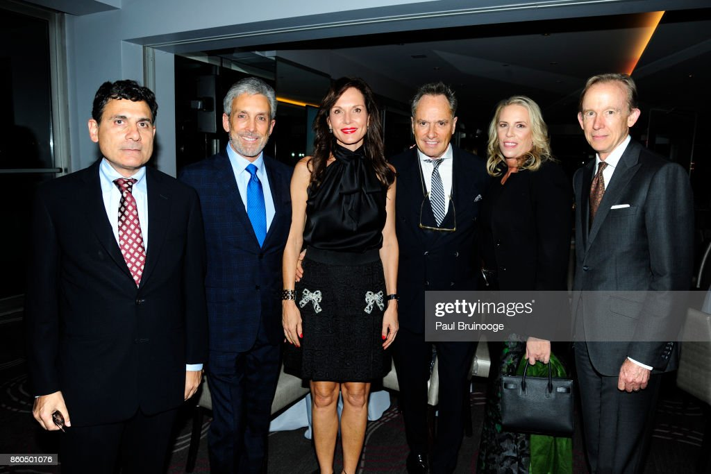Oscar Shamamian, Charles S. Cohen, Clo Cohen, Lee Mindel, Victoria Hagan and Mark Ferguson attend the Decoration and Design Building celebrates the 2017 winners of the DDB's 10th Anniversary of Stars of Design Awards at D&D Building on October 11, 2017 in New York City.