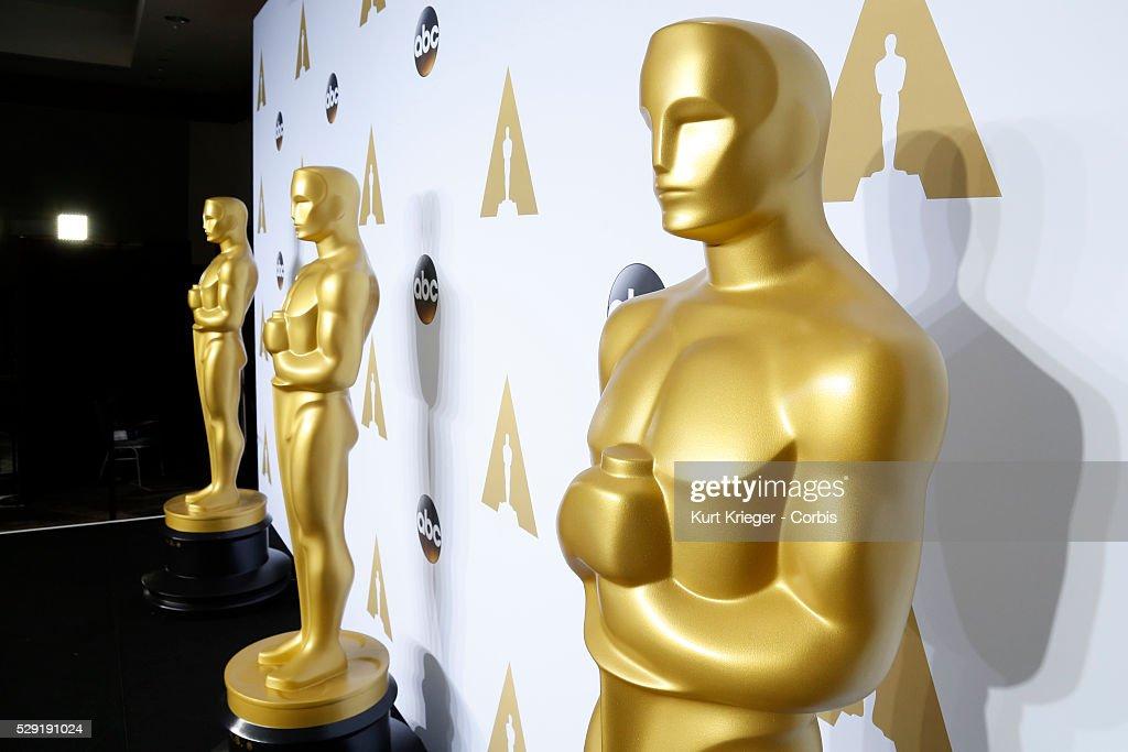 Oscar statue - 88th Academy Awards : News Photo