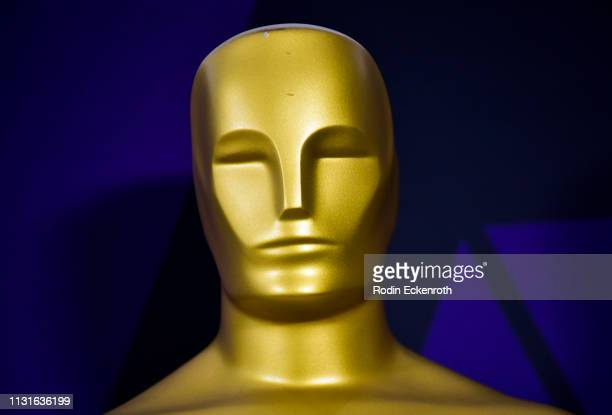 Oscar Statue at the Academy of Motion Picture Arts and Sciences on February 23 2019 in Beverly Hills California