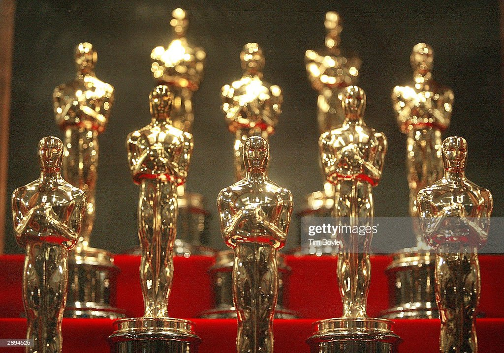 Oscar Statuettes On Display At Chicago Museum Of Science & Industry : News Photo