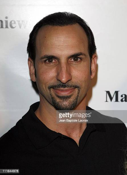 Oscar Torre arrives at the National Launch event for Mamie Van Doren's new wine collection MAMITAGE at Eleven Club on November 14 2007 in West...