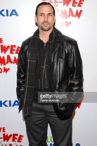 Oscar Torres attends The Pee Wee Herman Show Opening Night at Club Nokia on January 20 2010 in Los Angeles California