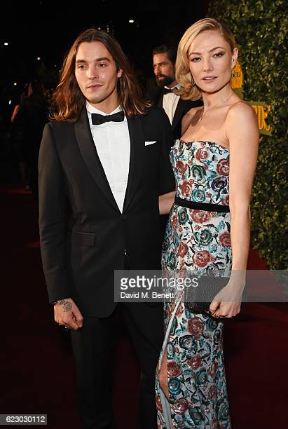 Oscar Tuttiett and Clara Paget arrive at The 62nd London Evening Standard Theatre Awards recognising excellence from across the world of theatre and...