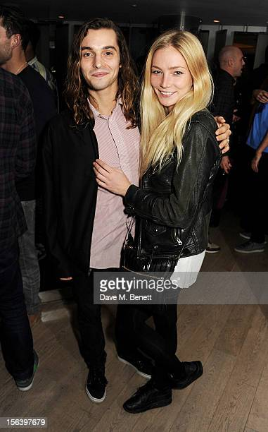 Oscar Tuttiett and Clara Paget attend the launch of 'Do Not Disturb by W Hotels' in collaboration with Boiler Room in the EWOW Suite at W London...
