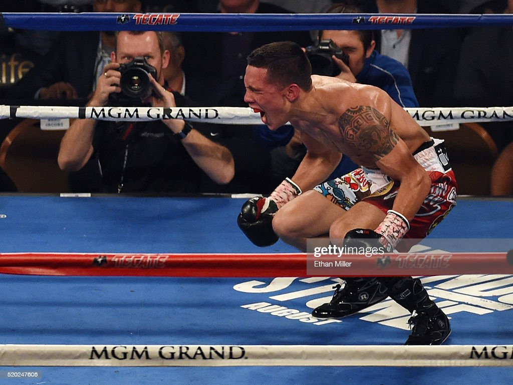 Oscar Valdez v Evgeny Gradovich : News Photo