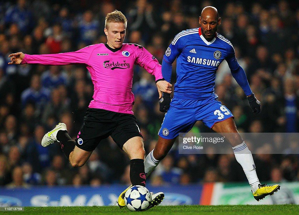 UEFA Champions League - Chelsea v FC Copenhagen : Foto jornalística