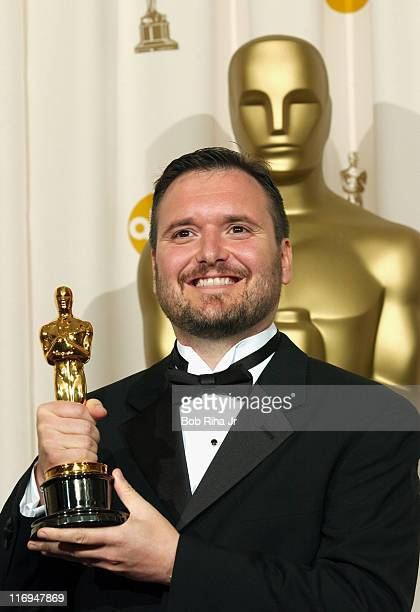 Oscar Winner Eric Armstrong for Best Animated Short Film for ChubbChubbs