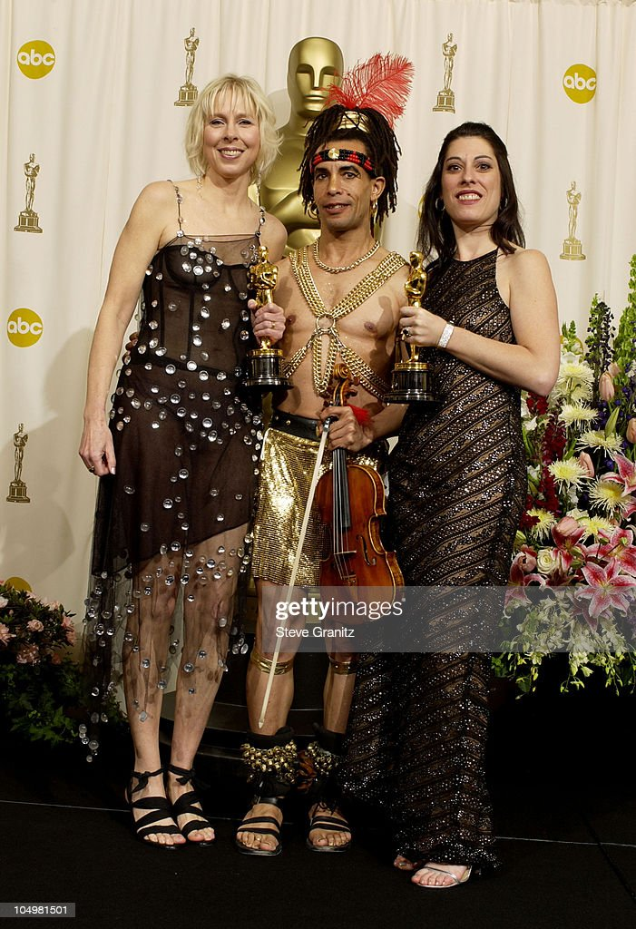Oscar winners Sarah Kernochan and Lynn Appelle for Best Documentary Short Subject, 'Thoth'.