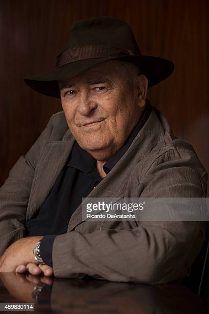 Oscar winning director Bernardo Bertolucci is photographed for Los Angeles Times on November 11 2013 in Beverly Hills California PUBLISHED IMAGE...