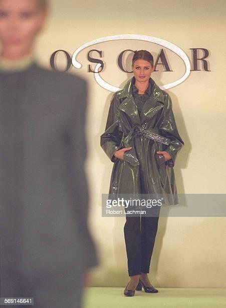 LSOscar/FashionRDL A model walks down the runway at Neiman Marcus in Newport Beach wearing a creation from the Oscar de la Renta fall collection...