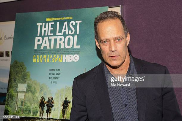 Oscar-nominee, journalist, and filmmaker Sebastian Junger arrives at a screening of the documentary film 'The Last Patrol' at SIFF Cinema Uptown on...