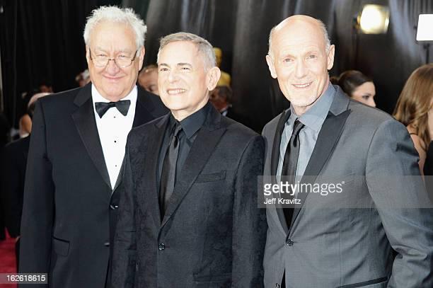 Oscar's Telecast Director Don Mischer Oscar's Telecast Executive Producers Craig Zadan and Neil Meron arrive at the Oscars at Hollywood Highland...