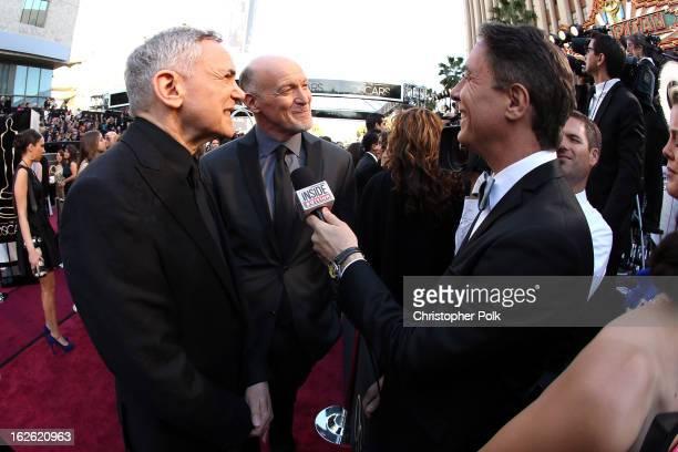 Oscar's Telecast Executive Producers Craig Zadan and Neil Meron arrive at the Oscars held at Hollywood Highland Center on February 24 2013 in...
