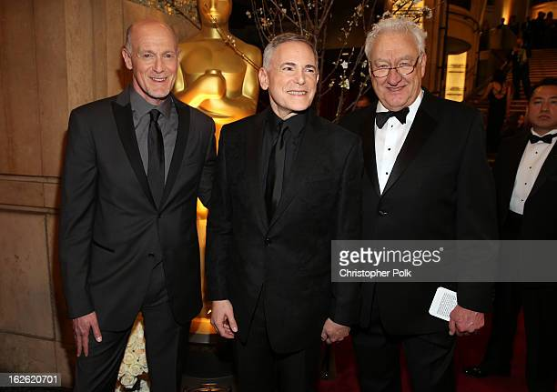 Oscar's Telecast Executive Producers Neil Meron Craig Zadan Oscar's Telecast Director Don Mischer arrive at the Oscars held at Hollywood Highland...
