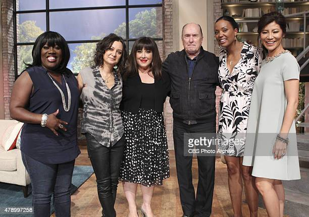 Oscarwinning actor Robert Duvall discusses his new film on The Talk Thursday June 4 2015 on the CBS Television Network From left Sheryl Underwood...