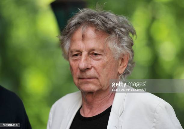 Oscarwinning PolishFrench director Roman Polanski looks on on August 28 2016 in ChanceauxprèsLoches central France during the 21th book fair 'The...