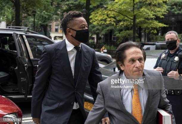 Oscar-winning U.S. Actor Cuba Gooding Jr. Arrives at court for a hearing in his case of sexual abuse, in New York, United States on August 13, 2020.