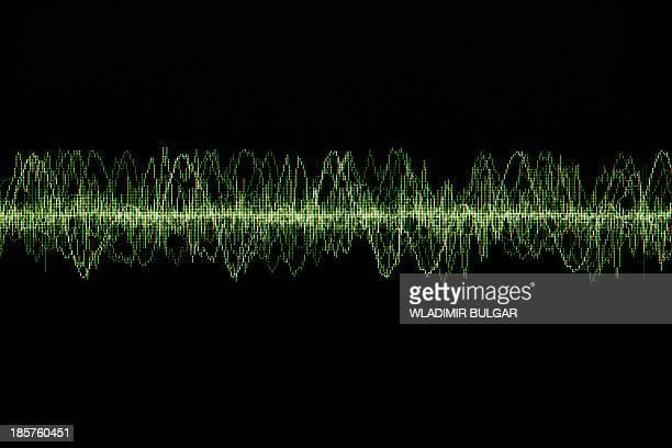 oscilloscope screen - oscilloscope stock pictures, royalty-free photos & images