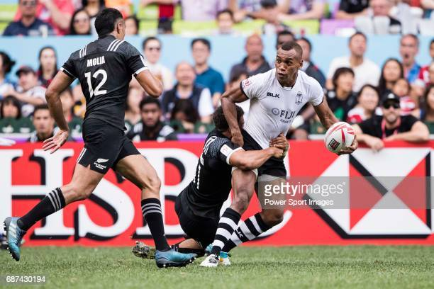 Osea Kolinisau of Fiji in action during their Pool C match between Fiji vs New Zealand as part of the HSBC Hong Kong Rugby Sevens 2017 on 08 April...
