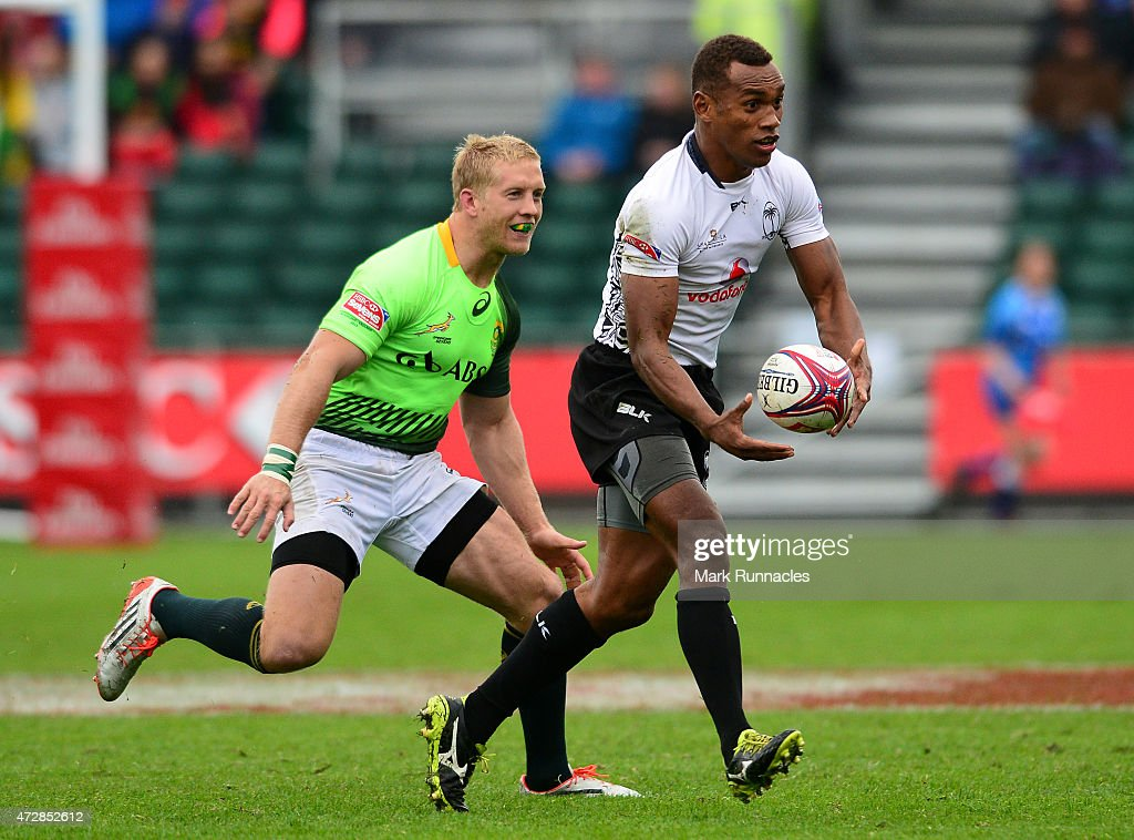 The Emirates Airlines Rugby 7s - Glasgow : News Photo