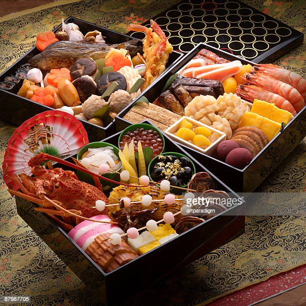 Osechi -Japanese traditional food for the new year
