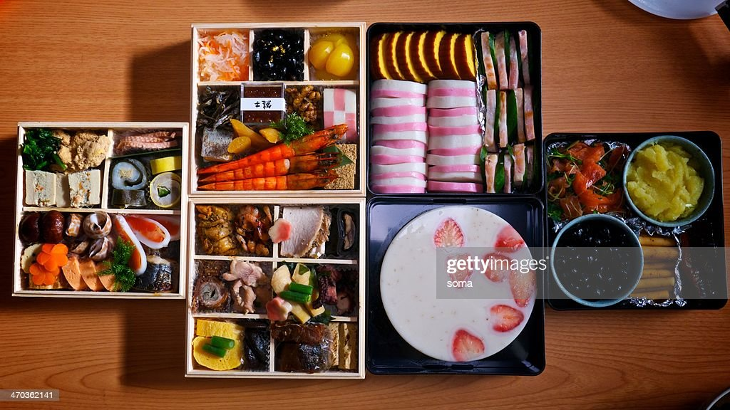 Osechi (Japanese traditional new year food) : ストックフォト