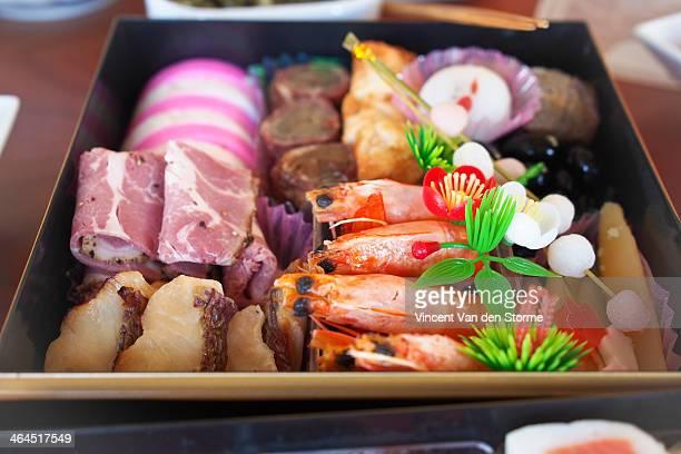 osechi ryori - osechi ryori stock pictures, royalty-free photos & images