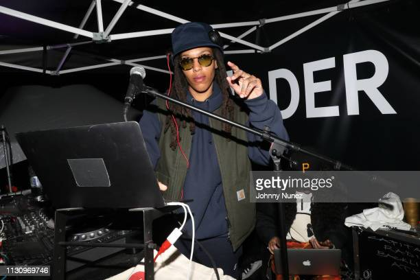 Osh Kosh spins at Fader Fort 2019 - Day 3 on March 15, 2019 in New York City.