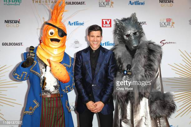 Osher Gunsberg arrives at the 61st Annual TV WEEK Logie Awards at The Star Gold Coast on June 30 2019 on the Gold Coast Australia