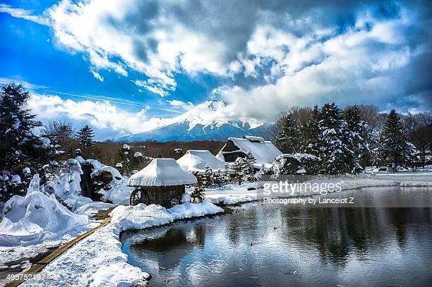 Oshino Hakkai(Springs of Mt.Fuji)
