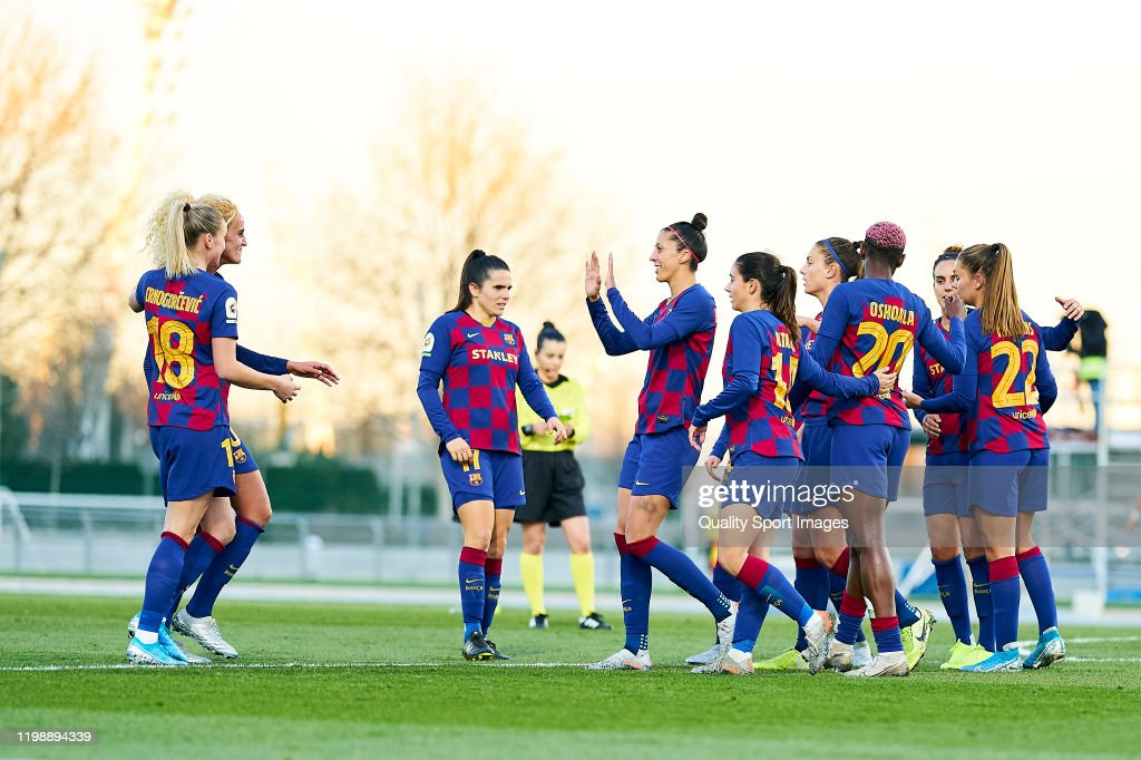 CD Tacon v FC Barcelona - 1st Division Femenina : News Photo