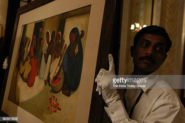 Osian's auctions Indian Art at the Imperial Hotel in New Delhi A painting by artist Amrita SherGil sold for Rs 6 Crores at this auction the most...