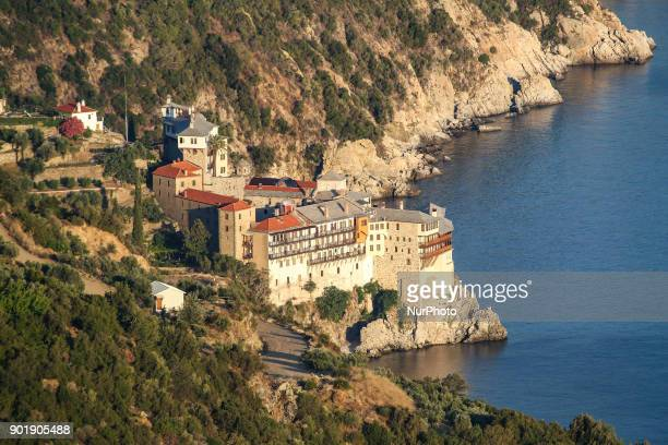 Osiou Gregoriou monastery or Saint Gregory monastery in Mount Athos in Greece It is an Orthodox Christian monastery built in the 14th century...