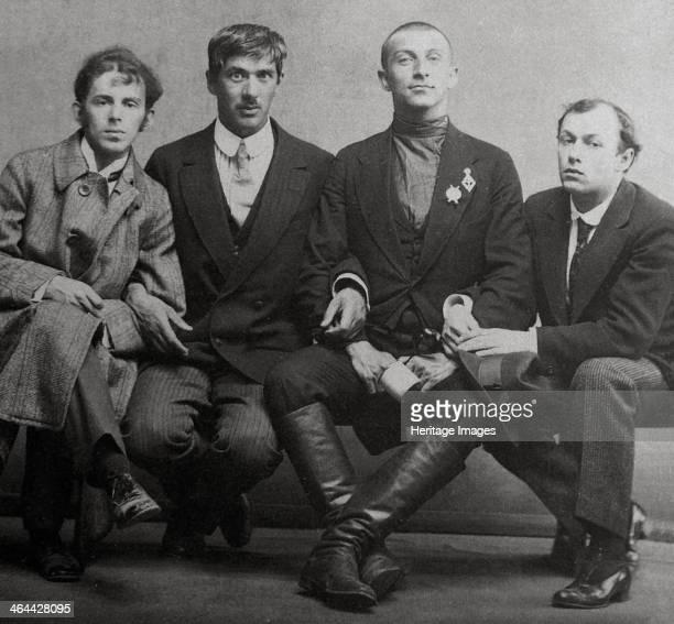 Osip Mandelstam Korney Chukovsky Benedikt Livshits and Yury Annenkov 1914 Mandelstam Chukovsky and Livshits were Russian poets Annenkov was a painter...