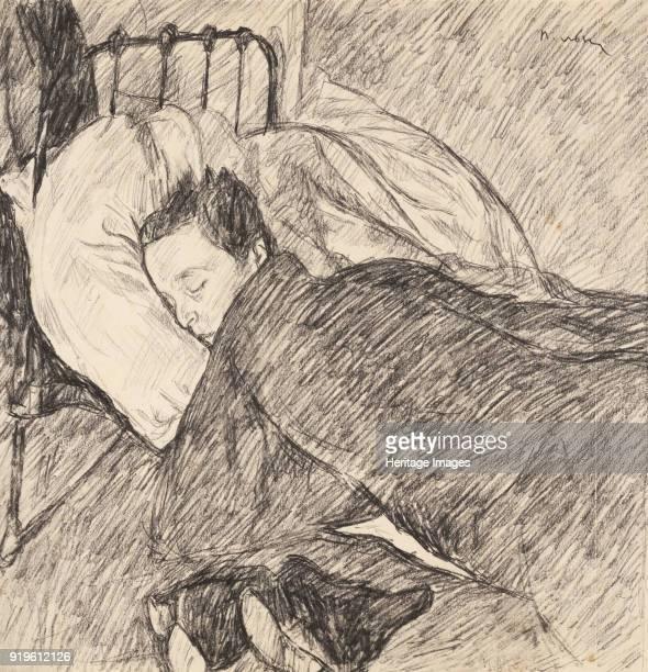 Osip Mandelstam sleeping Private Collection