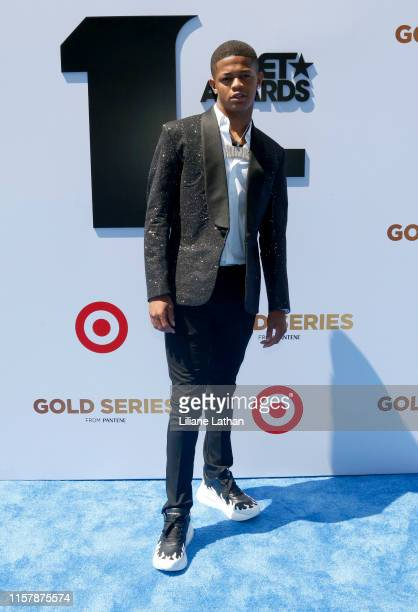 Osiris attends the Pantene Style Stage at the 2019 BET Awards at the 2019 BET Awards at Microsoft Theater on June 23 2019 in Los Angeles California