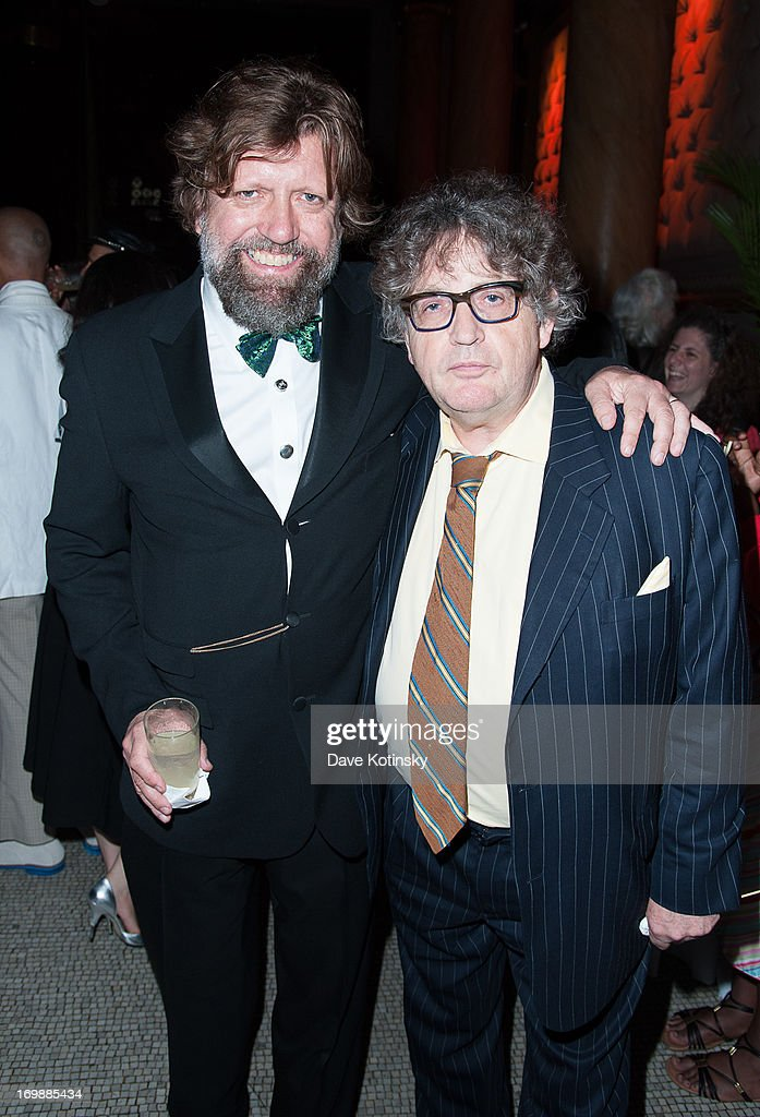 Oskar Eustis and Poet Paul Muldoon attends the 2nd Annual Decades Ball at Capitale on June 3, 2013 in New York City.