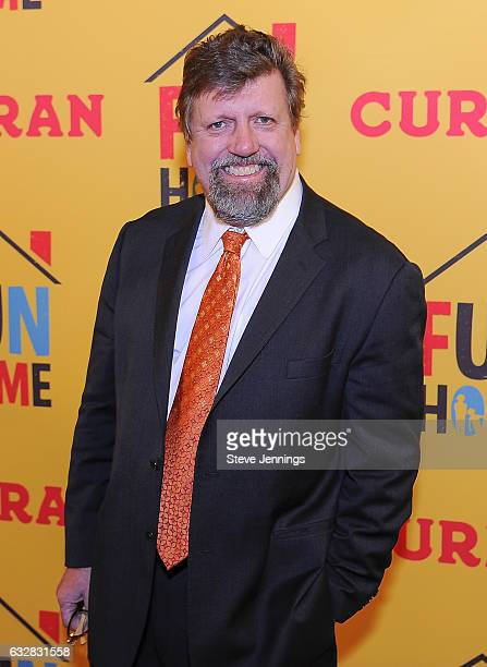 Oskar Eustis attends the ReOpening of the Curran Theater with the Tony Award Winning Best Musical Fun Home on January 26 2017 in San Francisco...